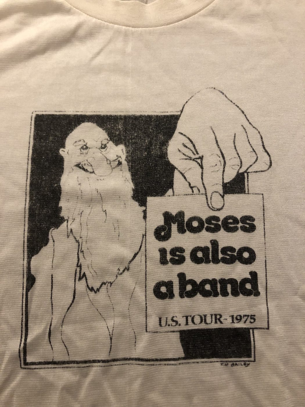 Moses Tour Shirt 1975
